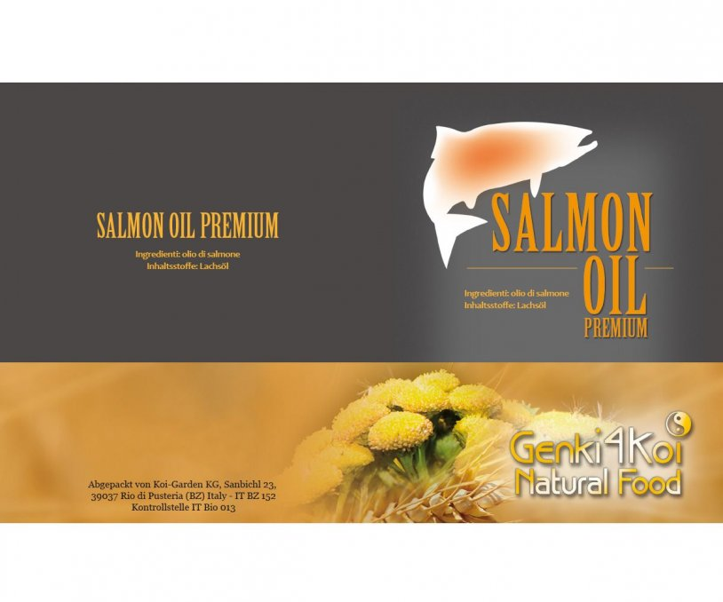Salmon Oil Premium 500 ml